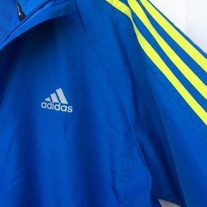 Men's Blue Adidas Climaproof Jacket